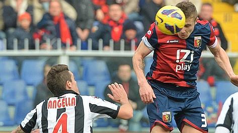 Juraj Kucka in gol contro l'Udinese. Ansa
