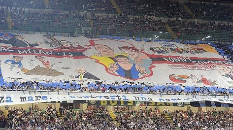 Fotonotizia - Inter, ecco la scenografia della Curva Nord questa ...