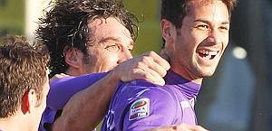 La gioia di Marcelo Larrondo. Ap