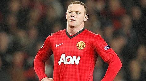Wayne Rooney durante la partita con il Real Madrid. Reuters