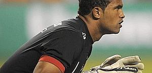 Bruno Fernandes con la maglia del Flamengo.