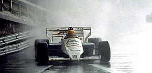 1984, Senna sotto il diluvio a Montecarlo