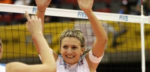 Sara Anzanello, 32 anni, ha vinto il Mondiale 2002 con l'Italia. Afp