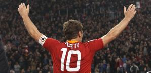 Francesco Totti, 36 anni. Ansa
