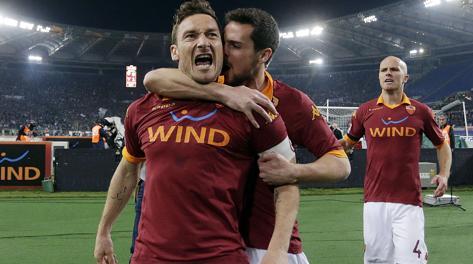 Francesco Totti, 36 anni. Eidon