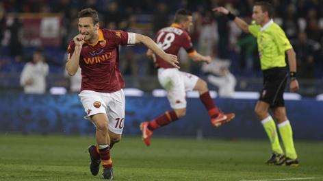 Francesco Totti, 36 anni. Reuters