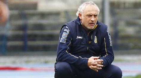 Andrea Mandorlini è l'allenatore del Verona. LaPresse