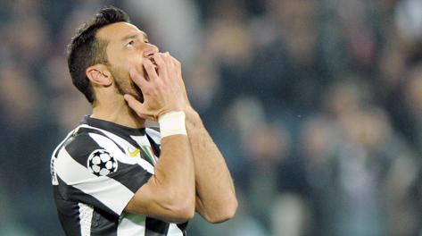 Fabio Quagliarella, 30 anni, in ombra contro il Bayern. Ansa