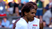 Golden Moments, Brown d� spettacolo con Nadal