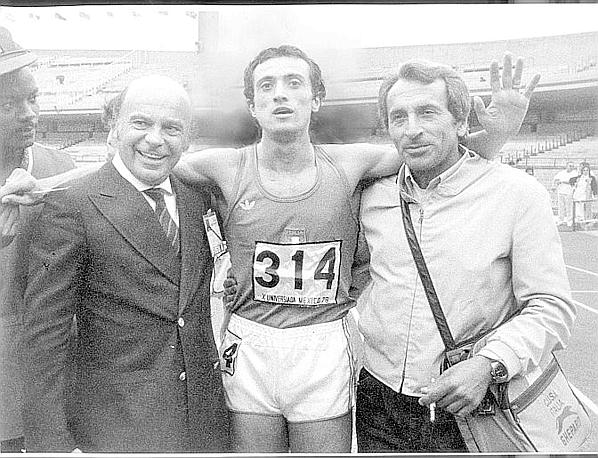 Pietro Mennea all'Universiade di Messico 1979