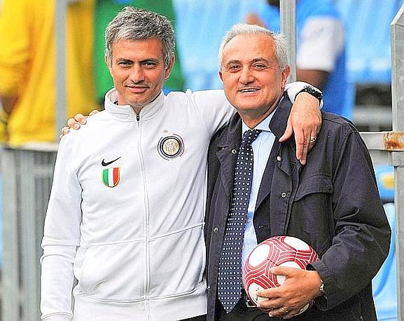 Mennea e Josè Mourinho