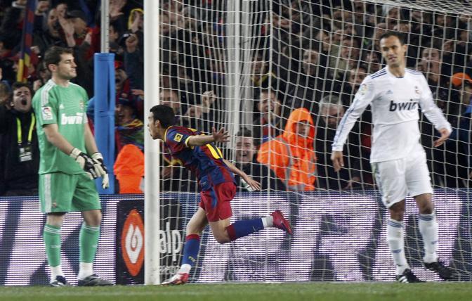 Il Barcellona colpisce ancora al 18'. Reuters