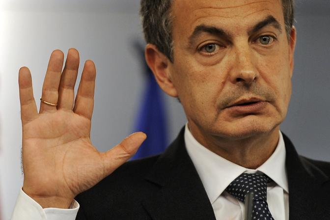 """José Luis Rodriguez Zapatero (Primo Ministro spagnolo): """"Vince il Barça  4-2""""."""