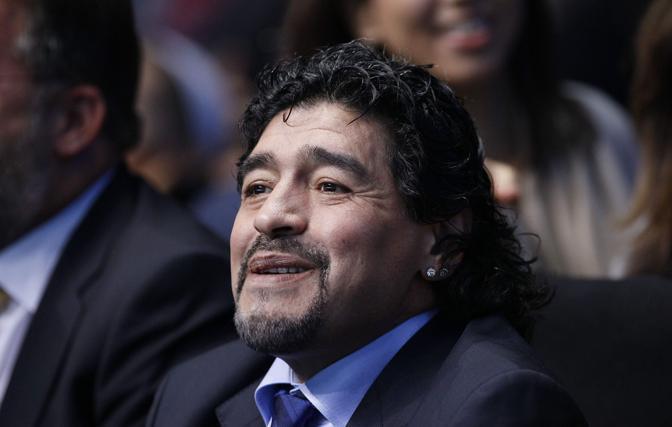 """Diego Maradona: """"Prima dell'arrivo di Mourinho il Madrid era un  puttanaio""""."""