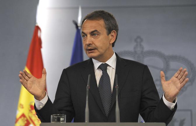 """José Luis Rodriguez Zapatero (Primo Ministro spagnolo): """"Guardiola mi  piace più di Mourinho, e Messi più di Ronaldo""""."""