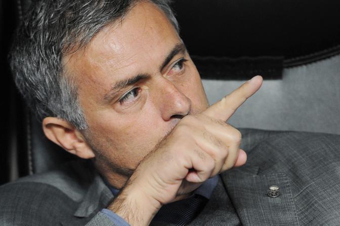 """José Mourinho: """"Sarà una partita difficile, un pareggio sarebbe buono  anche se è meglio vincere""""."""