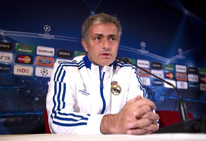 """José Mourinho: """"Se già è stato divertente andare al Camp Nou con  Chelsea e Inter, ora col Madrid lo sarà ancora di più""""."""