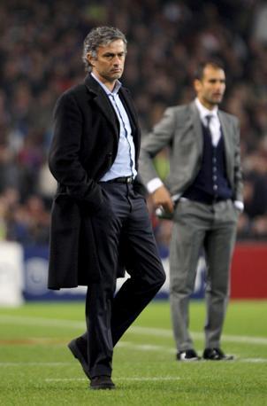 """José Mourinho: """"A Barcellona sono persona non grata: non mi perdoneranno mai di avergli negato la possibilità di vincere la  Champions al Bernabeu""""."""