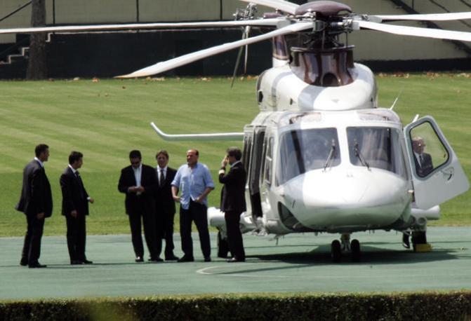 Elicottero Silvio Berlusconi : Berlusconi anni di milan