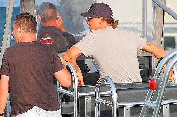 Il pomeriggio di Ibrahimovic a Formentera: dalla partenza da Ibiza  all&#39;arrivo a casa di Inzaghi nella piccola isola delle Baleari meta di calciatori e vip. 