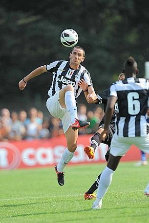 Leonardo Bonucci in azione. LaPresse