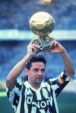 Roberto Baggio Pallone d'Oro 1993