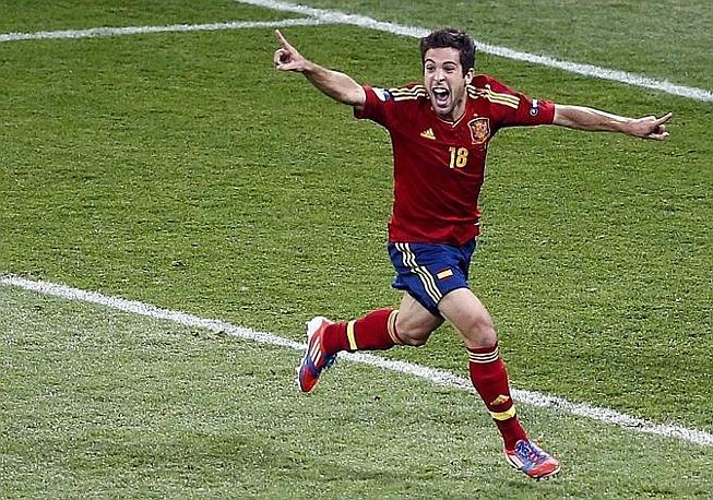 Esulta il nuovo acquisto del Barcellona. Reuters