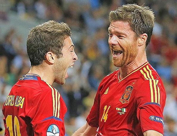 Congratulato anche da Xabi Alonso. Ap