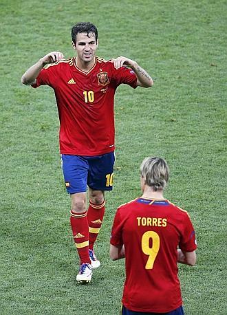 Alla mezz'ora della ripresa tocca a Fernando Torres. Ap
