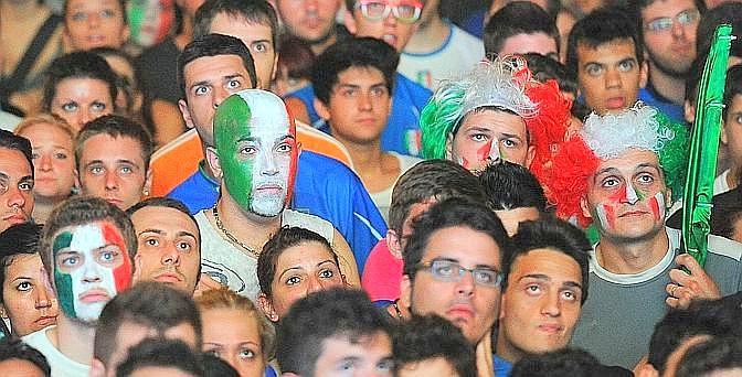 Tanta delusione per i tifosi italiani. Ansa
