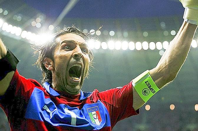 Di Buffon...Reuters