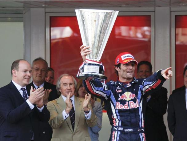 Mark Webber trionfa sul podio