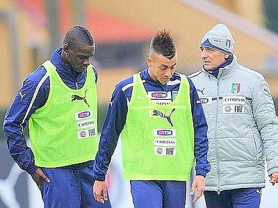Italia, Balotelli e il Faraone. E' una Nazionale in salsa Milan