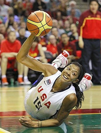 La statunitense Candace Parker. Ap