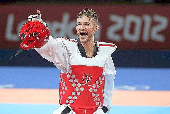 "Mauro Sarmiento, bronzo, taekwondo, 80 kg. La Gazzetta titola: ""Sarmiento nel taekwondo arriva al bronzo dopo l'argento di Pechino"". Reuters"
