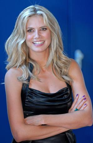 Numero 7: Heidi Klum. Afp