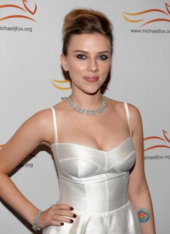 Numero 5: Scarlett Johansson. Afp