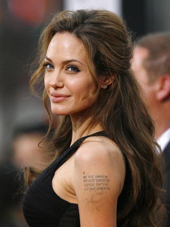Numero 3: Angelina Jolie. Reuters