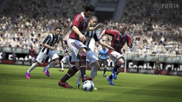 Un'immagine di Juventus-Milan