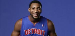 Andre Drummond, centro dei Pistons.