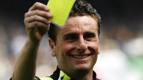 Massimo De Santis, ex arbitro. Ap