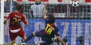 Muller segna il 4-0.  70° gol in 200 gare col Bayern. Reuters