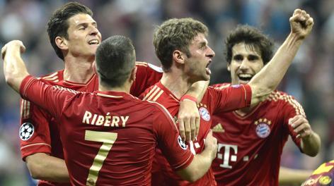 Il Bayern Monaco incarna la forza del calcio tedesco. Afp