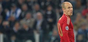 Robben, uno dei punti di forza del Bayern. LaPresse