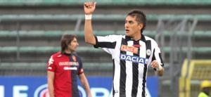 Pereyra esulta dopo il gol decisivo al Cagliari. Ansa