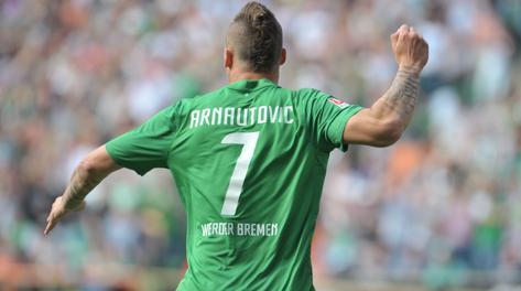 Marko Arnautovic, al Werder dal 2010.Epa