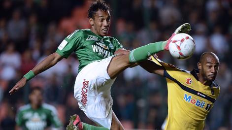 Pierre-Emerick Aubameyang, 23 anni, stella del Saint Etienne. Afp