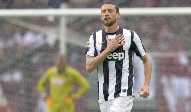 Claudio Marchisio, 211 presenze e 28 gol per la Juventus. LaPresse