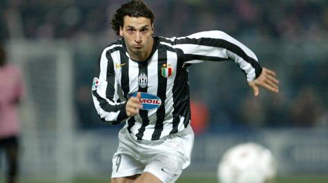 Zlatan Ibrahimovic ha vestito la maglia della Juve. dal 2004 al 2006. Archivio