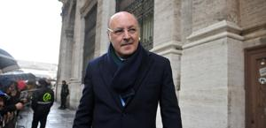 Beppe Marotta, a.d. Juventus. Ansa